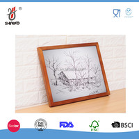 Wall Fashion Wooden Photo Frame , Wooden Cute Picture Frame