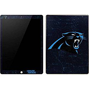 NFL Carolina Panthers iPad Pro Skin - Carolina Panthers Distressed Vinyl Decal Skin For Your iPad Pro