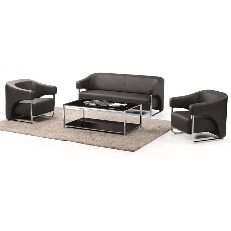 Sectional office sofa set waiting room office sofa W8831