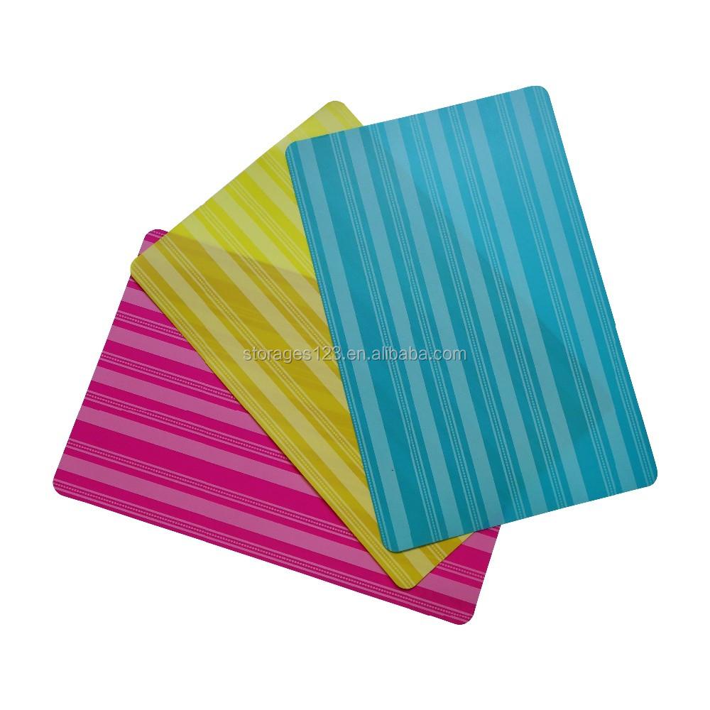 Pp Pvc Table Placemat Plastic Placemat Polypropylene