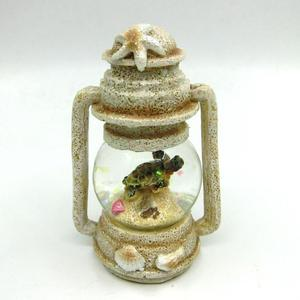 Eco Friendly Resin Water Ball Souvenir with Turtle Tower Latern Gifts Balls
