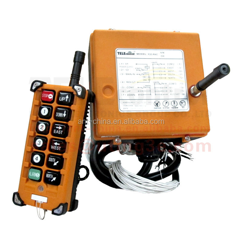 Winch wireless remote control F23-A++ rf transmitter and receiver industrial remote controls