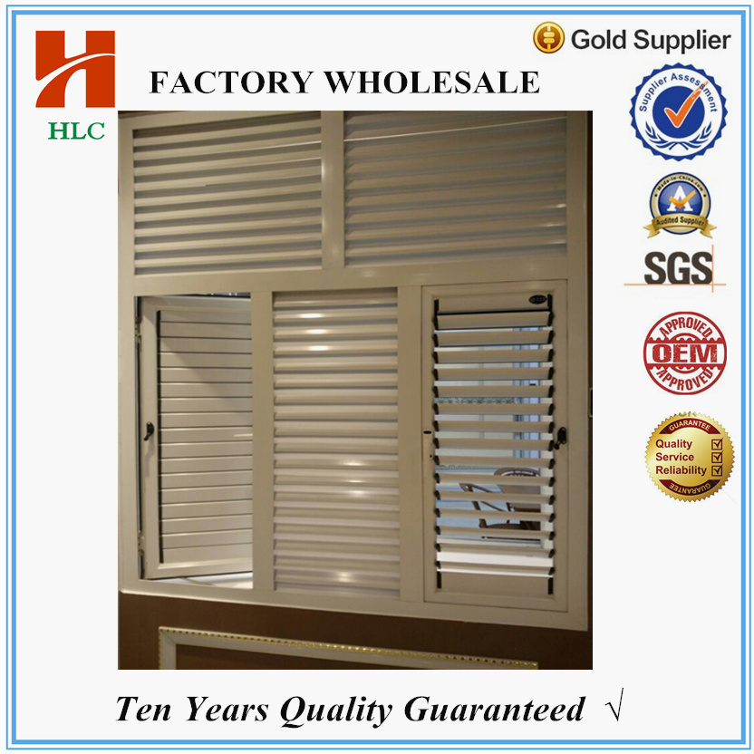 China top hardware aluminum casement window louvers