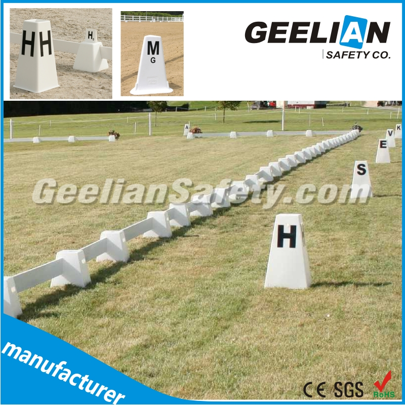 UV proof certificated Europe Dressage Arenas Fence factory