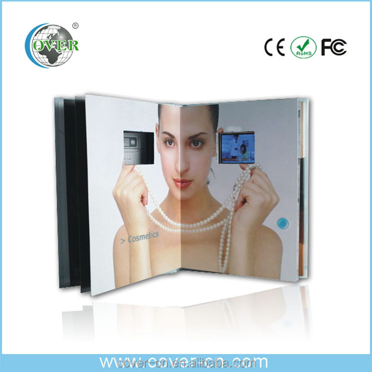 Custom Lcd Video Brochure Card, Advertising Video Card
