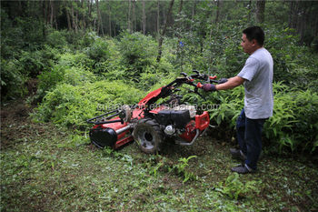 Grillo Multi-purpose Two-wheel Walking Tractor With Flail Mulcher/mower -  Buy Grillo Two-wheel Tractor With Flail Mulcher,Mulching Machine,Mowing