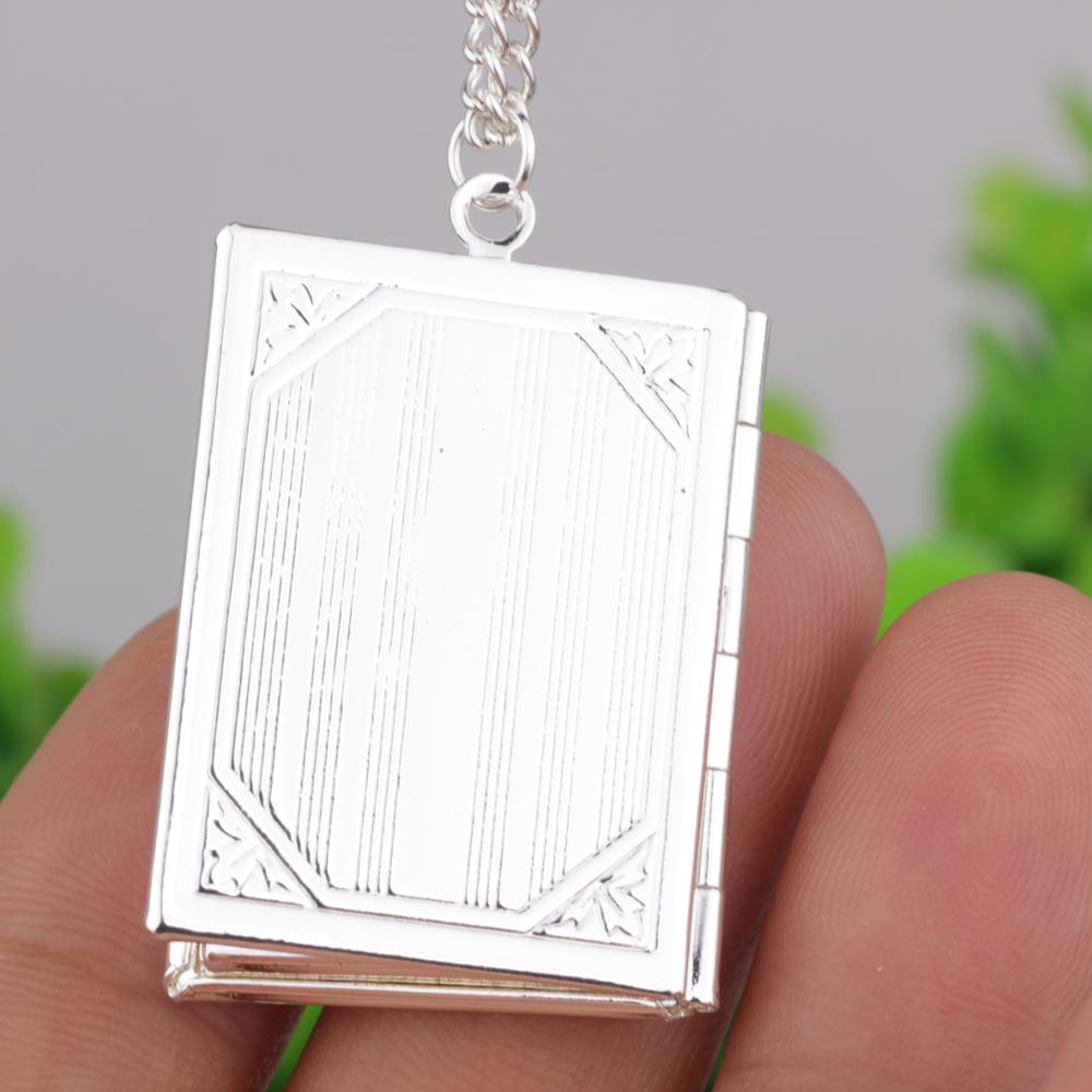 Allah locket the muslim book locket pendant necklace with chain allah locket the muslim book locket pendant necklace with chain silver muhammad islamic quran koran box aloadofball Gallery