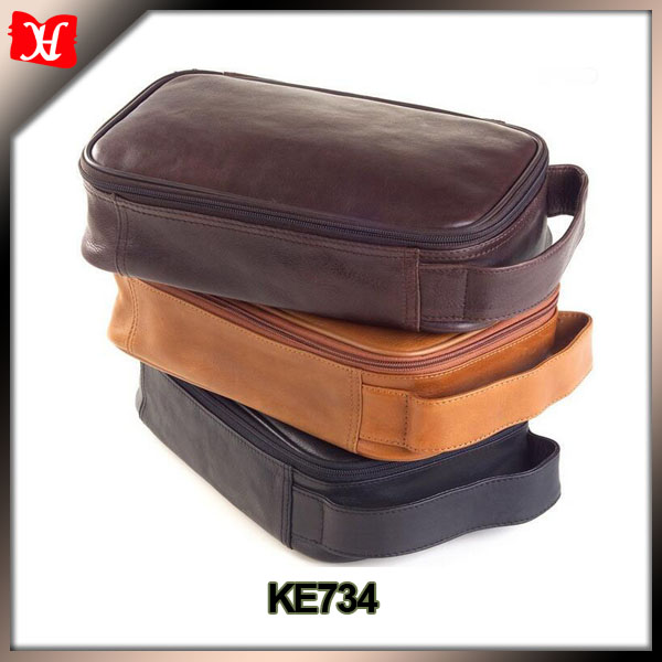 leather luxury cosmetic bag travel toiletry kit