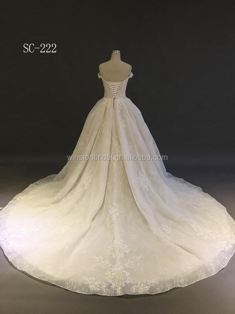 The New 2018 High Quality Latest Wedding Dress Bridal Gown,Wedding ...