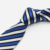 Fashion Blue Stripe Mens Silk Ties