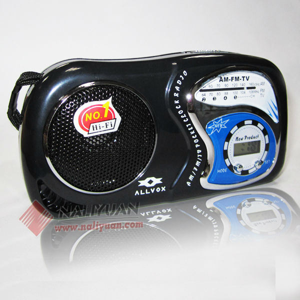 High quality portable cd alarm clock radio digital cd alarm clock radio
