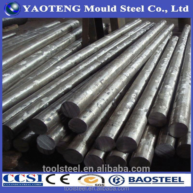 aisi d3 mold steel round bar hot rolled/forged