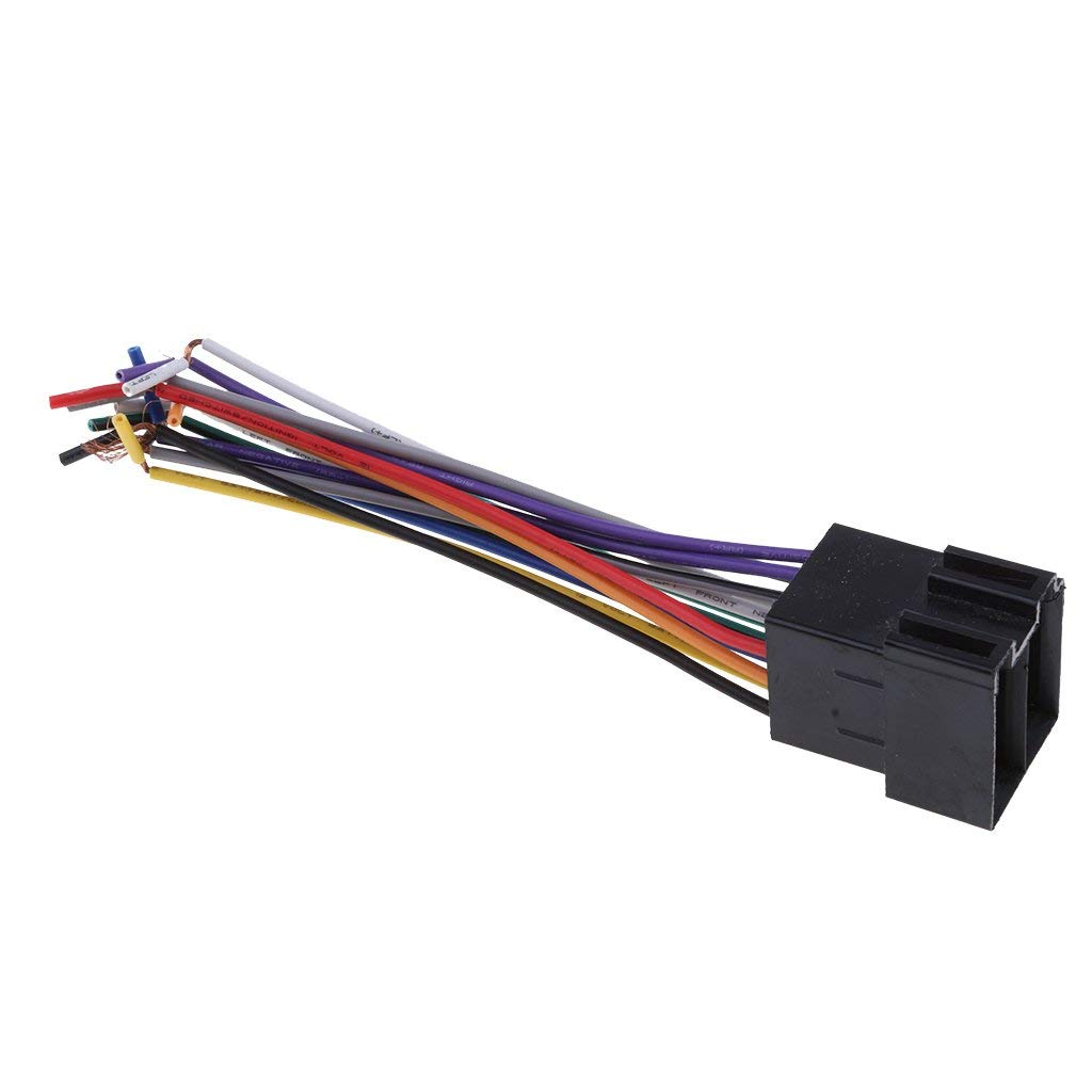 Cheap Iso Connector Pinout Find Deals On Line Stereo Wire Harness Connectors Get Quotations Homyl Universal Car Radio Adapter Female Socket For 1986 Up