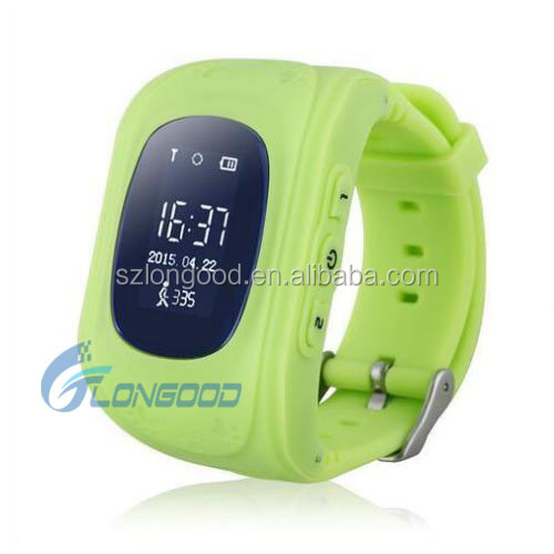 Direct Factory Price 2016 Best Selling Kids GPS Tracker Smart Watch Q50 With SOS Calling Function For Kids Watch Phone