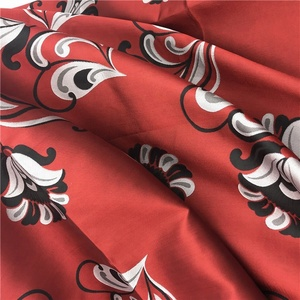 China manufacturer women dress textile jacquard fabric flower