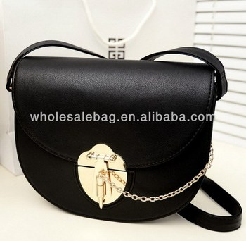 1dc00f4540 Cheap Leather Sling Bag Black Messenger Bag Cross BodyBag Cute Small Bag  For Girls Woman Ladies
