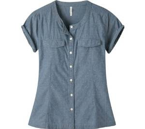 Mountain Khakis Amie Indigo SS Shirt - Women's