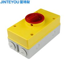 AC 3 Phase Rotary Selector Isolator Switch
