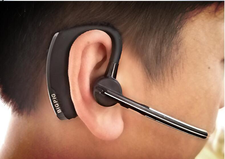 V8 Business Bluetooth Headset Wireless Earphone Car Bluetooth V4.1 Phone Handsfree MIC Music for iPhone Xiaomi Samsung