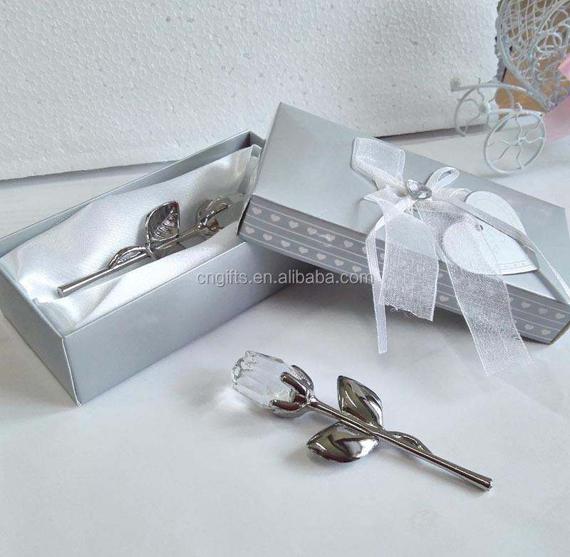 Ywbeyond Kristall Hochzeit Gefälligkeiten Kristall Rose Mit Langen Stiel Beste Valentinstag Geschenk Für Freundin Buy Kristall Hochzeit