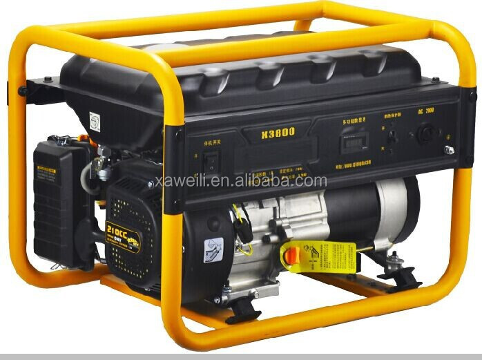 Cheap price 5kw gasoline/natural gas /lpg generator for sale