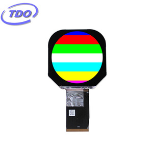 "2.47"" 2.5"" 480x 480 LCD round display with MIPI or RGB interface"