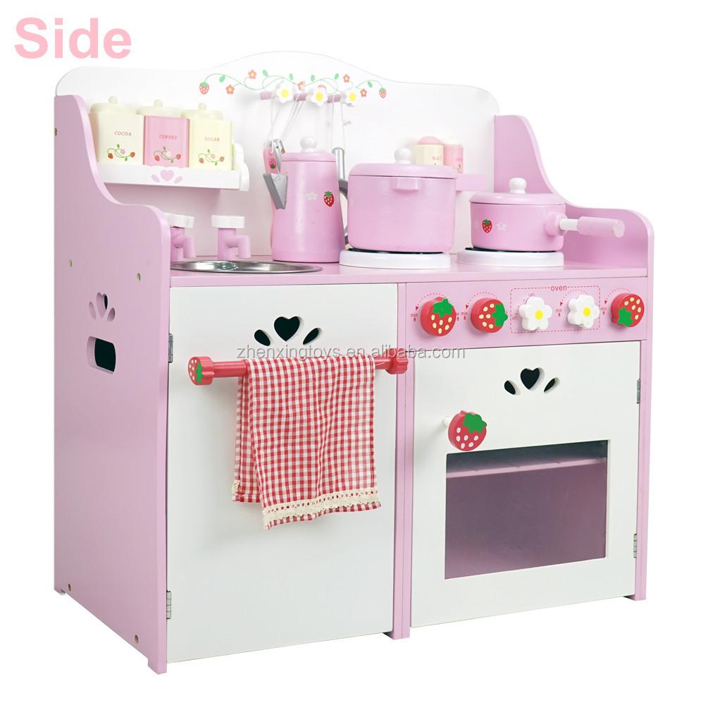 Kitchen Set wooden kitchen set photos : Wooden Japanese Strawberry Kids Pretend Food Play Kitchen Toy Set ...