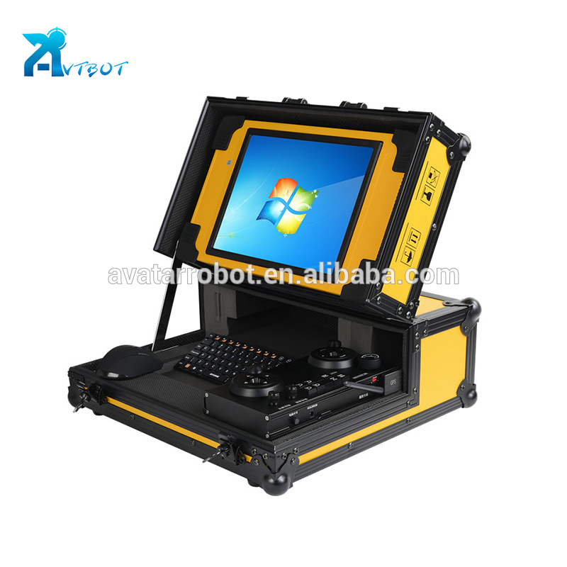 200m pipeline inspection camera 120m borehole 12.1 inch lcd display