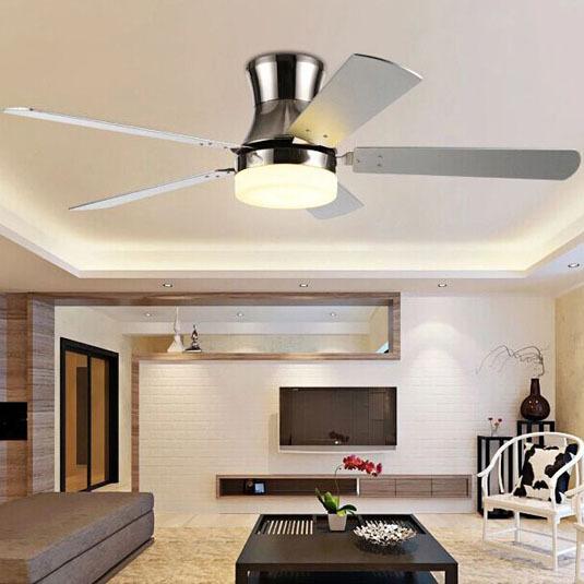 Modern Ceiling Fan Crystal For Living Room, Bed Room