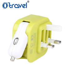 Otravel SL-608 Dual USB qc3.0 car charger and wall phone charger, fast car usb charger for usb device