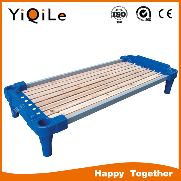 Best selling bed children school bunk bed with trundle kids bedroom furniture supplier