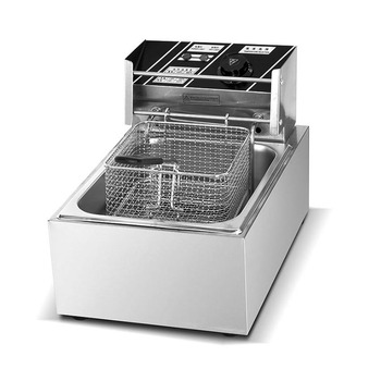 Factory price Counter Top 1 Tank 1 Basket Electric Deep Fryer