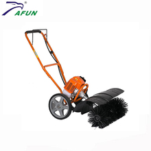 gas power road sweeper with 43cc,52cc displacement
