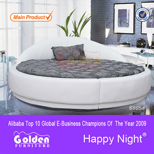 gute qualit t kingsize billige runde betten 6805 bett produkt id 299369813. Black Bedroom Furniture Sets. Home Design Ideas