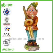 Craft Painting Resin Gnomes Wedding Music Decorations
