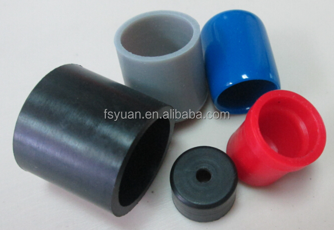 Pipe end caps rubber for
