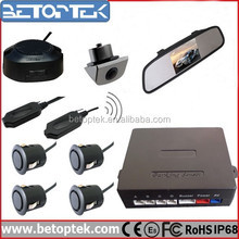 4.3 Inch Mirror Monitor Wireless Transmitter And Receiver Rear View Mirror Backup Camera System