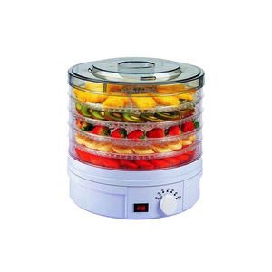 Electric food drying machine vegetable dehydrator home use 5 layers fruits dryer