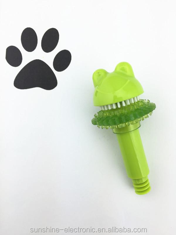 SXP013 silicona dedo dientes de perro detal cepillo dientes para ...