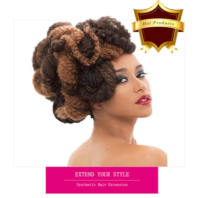 Synthetic Afro Hair Extension Source Quality Synthetic Afro Hair