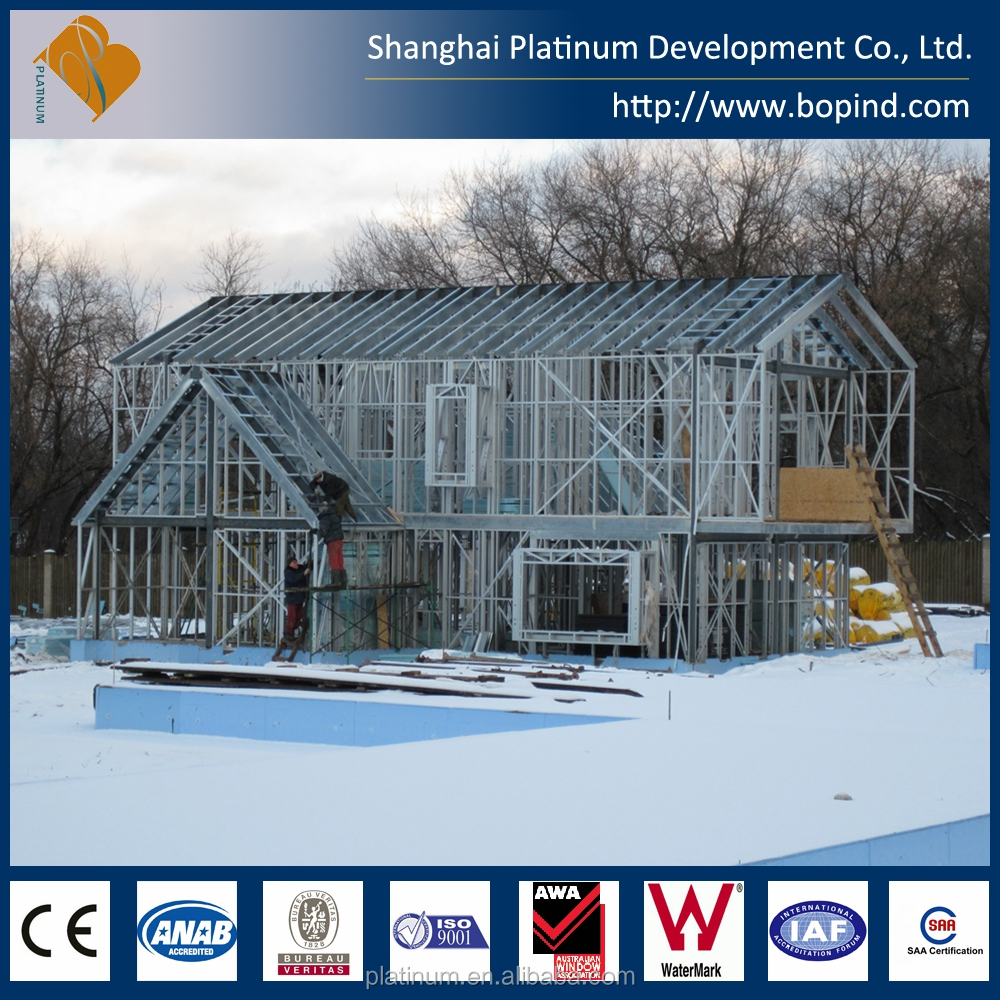 cheap portable houses luxury prefab steel villa prefabricated living houses