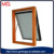 bathroom small size aluminum frame awning window with frosted glass