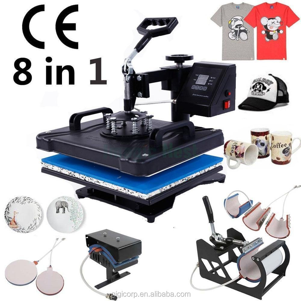 Advanced Heat Press Machine 8 1,Sublimation/Heat Transfer Machine,Heat Press For Mug/Cap/T shirt /Phone case