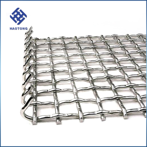 Wicker basketry galvanized fish grill mesh crimped wire mesh