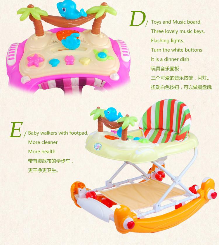 Andador para niños con música de fabricante chino