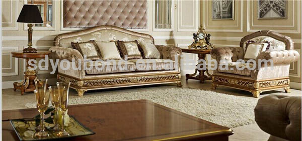 0062 royal furniture classic sofa set home furniture for Sofa royal classic