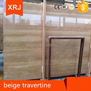 Natural stone tavera beige marble floor tiles , Beige travertine marble low price,Beige
