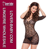 Popular Hot Wholesale Sexy Lady Black Lingerie Set Baby Doll Sexy Woman Babydoll Nightdress
