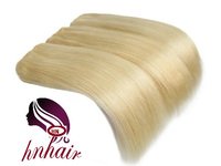Premium Quality Tangle Free Straight Virgin 613 Blonde Raw Russian Hair #613 Lightest Blonde