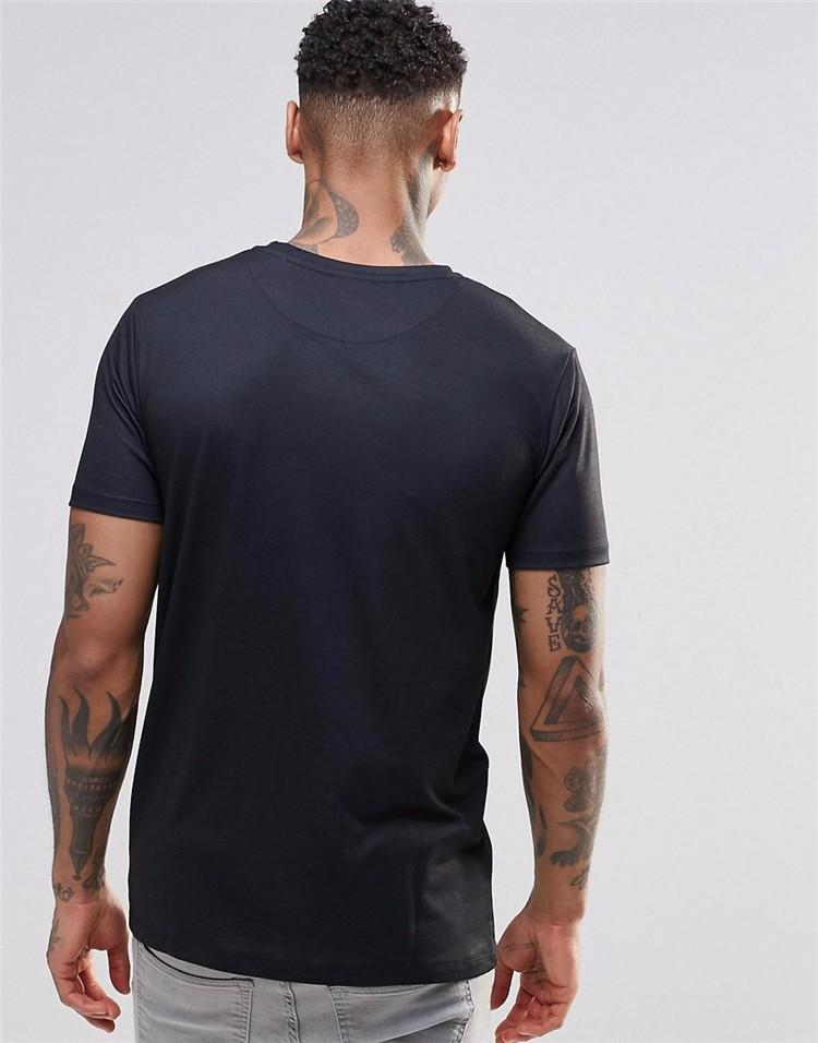 Custom print hip hop black t shirt 100 polyester short for Custom printed dri fit shirts